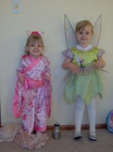 Mulan and Tinkerbell
